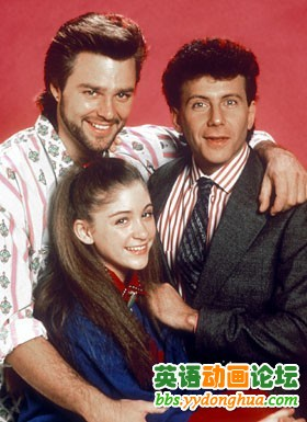 Michael Taylor (Paul Reiser) and Joey Harris (Greg Evigan), My Two Dads